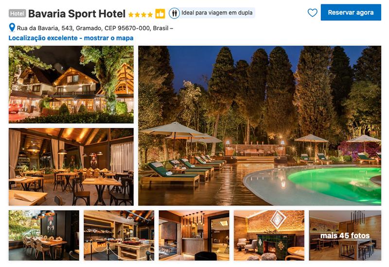 Bavaria Sport Hotel em Gramado