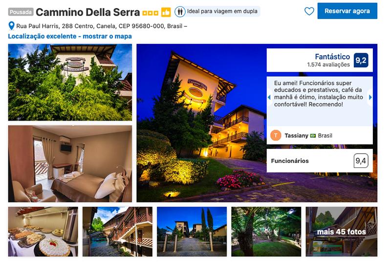 Hotel Cammino Della Serra em Canela