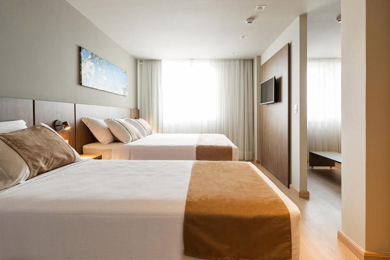 Suíte do Hotel Laghetto Vivace Canela