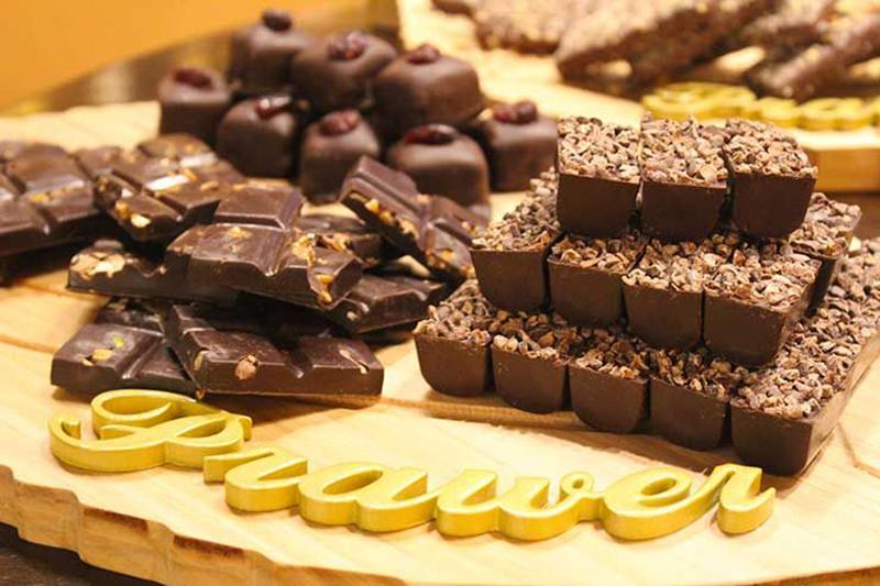 Loja de chocolates em Gramado