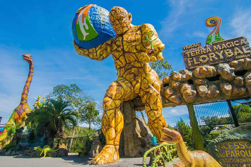 Parque Terra Mágica Florybal em Canela