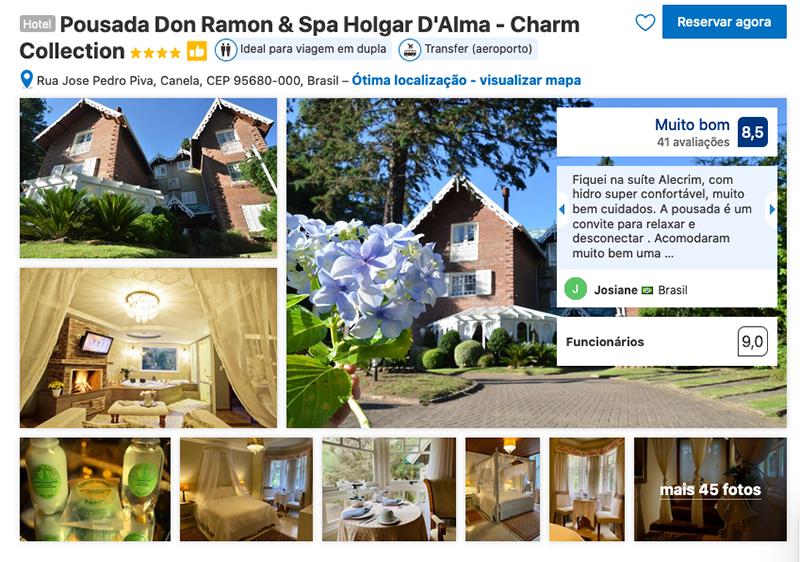 Pousada Don Ramon & Spa Holgar D'Alma - Charm Collection