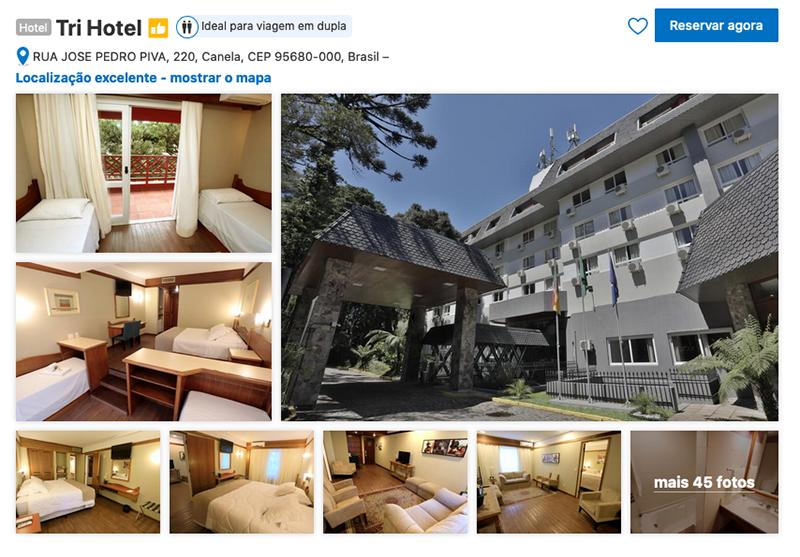 Tri Hotel em Canela