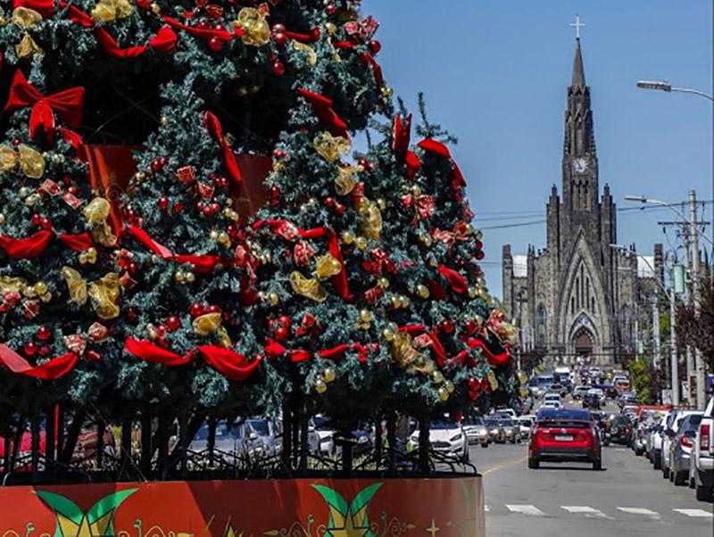 Decoração de Natal em Canela