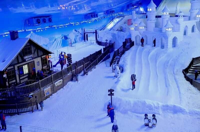 Snowland em Gramado