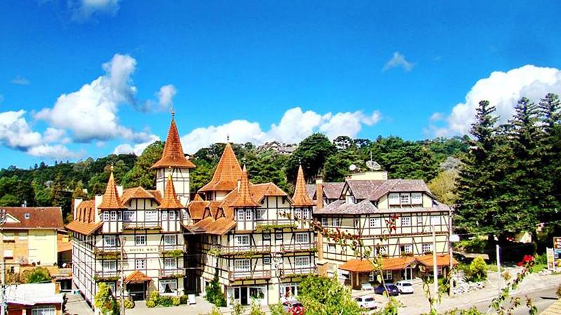 Vista da cidade de Gramado